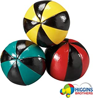 Higgins Brothers Set of 3 Juggling Balls 8 Panel Style