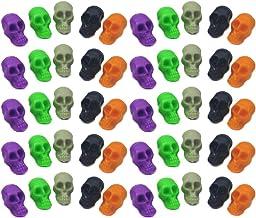 Amosfun Halloween Mini cr/ânes en Plastique Squelette en os t/ête Figurine Table Ornement Accessoire 50pcs Couleur m/élang/ée