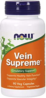 NOW Supplements, Vein Supreme™, Healthy Vein Function*, Circulatory Support*, 90 Veg Capsules