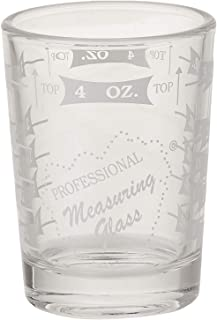 Professional Measuring Glass, One - 4 oz Measuring Glass with Two Free Flow Pourers (1)