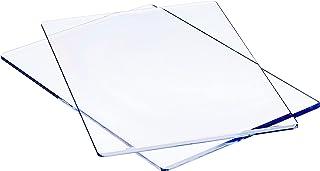 Sizzix - 655093 Tapis de Découpe Standard, Plastique, Transparent, 22.2 x 15.5 x 0.3cm, lot de 2