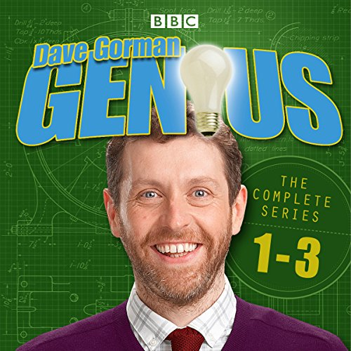 Dave Gorman - Genius: The Complete Series 1-3 audiobook cover art