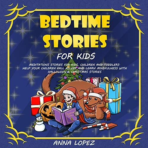 Bedtime Stories for Kids audiobook cover art
