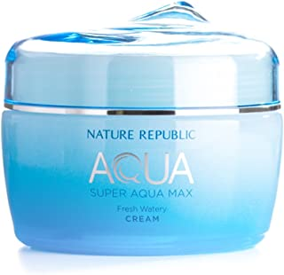 Nature Republic Super Aqua Max Fresh Watery Cream for Oily Skin, 245 Gram