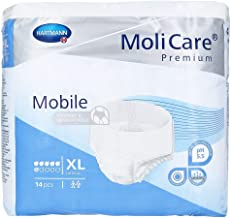 Molicare Mobile Protective Underwear, X-Large - 56/Case