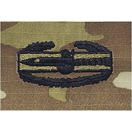 Free Shipping NEW US Army Combat Action Badge Embroidered Sew-On ACU Badge