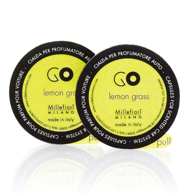 スキャンダル強調する性交ミッレフィオーリ ( Millefiori ) 「GO」専用 レフィル / lemon grass レモングラス