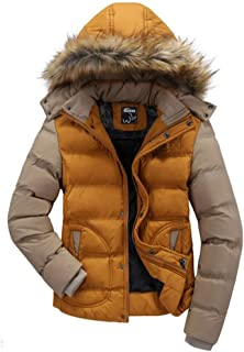 Wantdo Women's Casual Fur Hooded Thicken Quilted Outwear Jacket