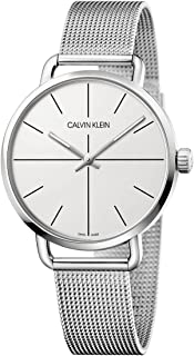 Calvin Klein Silver Dial Color Stainless Steel Strap Watch - K7B211-26