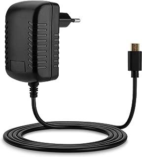Aukru Cargador Adaptador para Raspberry Pi 3/2 Model B+/B, Micro USB, 5V, 3000mA