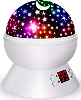 Night Lights for Kids Star Projector with Timer for Baby Boys and Girls