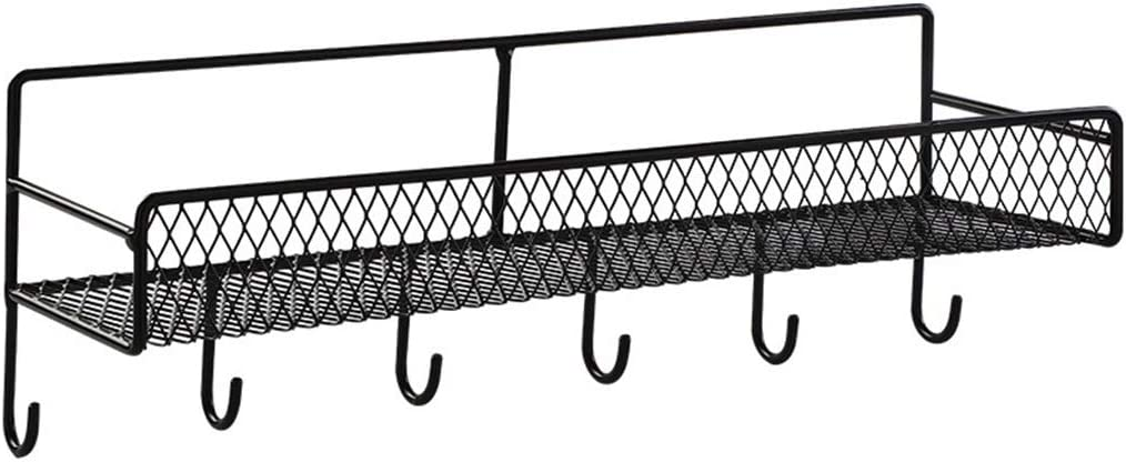 Reservation Key Hooks for Wall Metal Organizin with Hanging Basket Selling