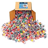 Jawbusters Jawbreakers Candy Bulk - Jaw Busters Jaw Breakers Individually Wrapped - Medium Size, Family Size, Bulk Candy 3 lbs