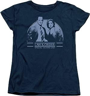 Law & Order SVU Crime Legal Drama TV Series Elliot&Olivia Women's T-Shirt Tee