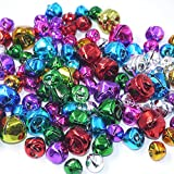 Adam Victor Craft Kits and Supplies 100 Mix Colorful Christmas Jingle Bells