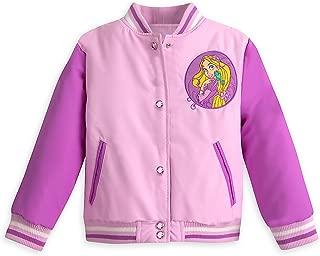 Rapunzel Varsity Jacket for Girls - Tangled - Purple