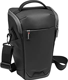 Manfrotto MB MA2-H-L Advanced² Camera Holster L, Large, for DSLR and Mirrorless with Long Lens, with Removable Shoulder St...