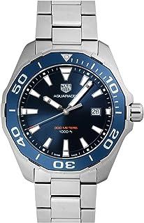 [タグホイヤー] TAG HEUER 腕時計 アクアレーサー 300m 43ミリ クォーツ ブルー WAY101C.BA0746 メンズ 新品 [並行輸入品]