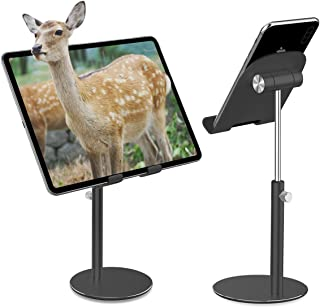 Faneam Soporte Tablet/Teléfono, Universal Portátil Ajustable Soporte para Tablets/iPad Air Mini 2 3 4/Samsung Tab/Mediapad/Kindle/E-Readers/Otras Smartphones,[4-13