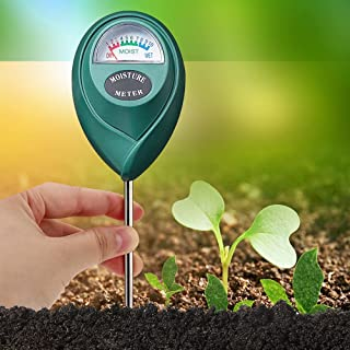 Soil Moisture Meter Plant Water Tester Soil Hygrometer Sensor Monitors Soil Condition of Garden, Courtyard, Lawn, Indoor &...