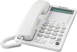 Panasonic Consumer KX-TS208W 2 Line Speakerphone