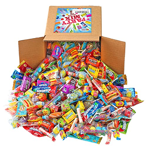 A Great Surprise Assorted Candy Mix - 7 Pound BOX - Individually Wrapped Candies - Pinata Candy Mix