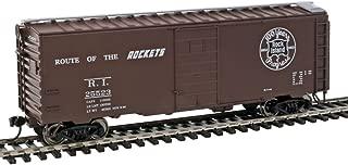40' PS-1 Boxcar - Ready to Run -- Rock Island #25523 (Boxcar Red; Rockets Slogan, 100th Anniversary Logo)