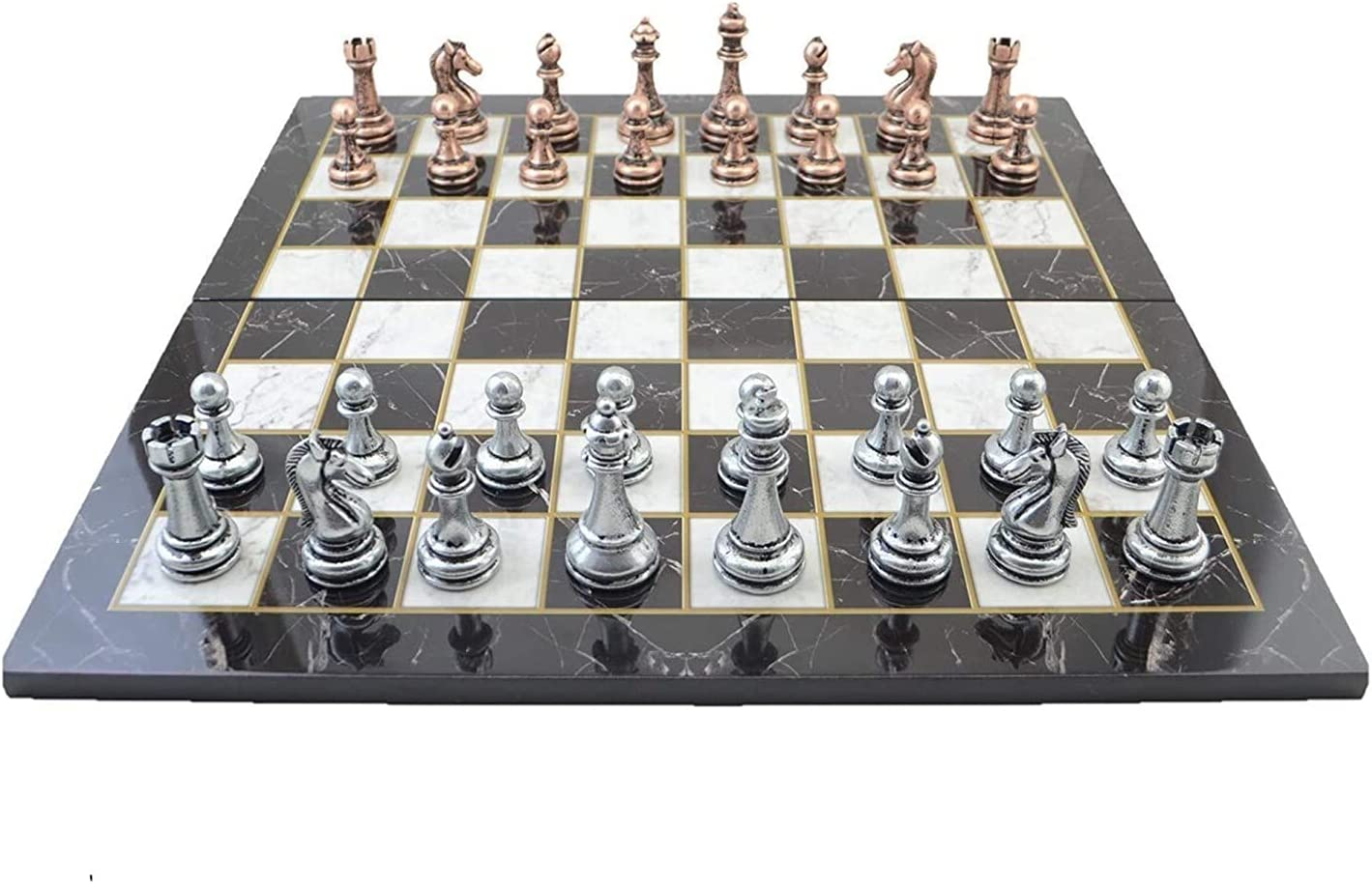 It is very popular free shipping Bidema Classic Antique Copper Chess for Set Adult Handmade Piece