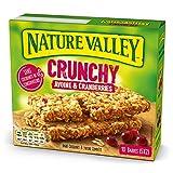 Nature Valley - Barres de Céréales Crunchy Avoine & Cranberries - 10 Barres (5x2 Barres)