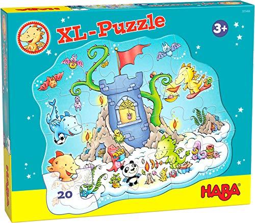 Haba 305466 Puzzle La Fiesta del Dragón Puzle Infantil, Multicolor (305466)