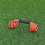 xin Agilidad Hurdles Conjunto de 5, obstáculos de Velocidad para la capacitación de Agilidad para el Entrenamiento de Fuerza de Velocidad pliométrica de Deportes de fútbol (Color : A, Size : 15cm)