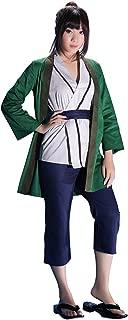 OURCOSPLAY Naruto Green Tsunade Cosplay Costume Coat Vest Pants Belt 4Pcs