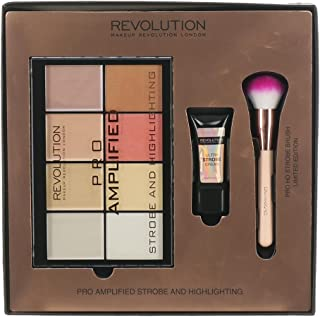 Makeup Revolution - Set Pro Amplified Strobe & Highlighting