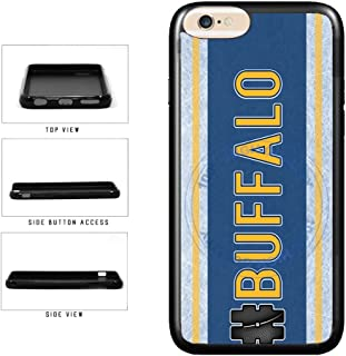 BleuReign(TM) Hockey Team Hashtag Buffalo #Buffalo TPU RUBBER SILICONE Phone Case Back Cover For Apple iPhone 6 Plus and iPhone 6s Plus (5.5 Inches Screen)
