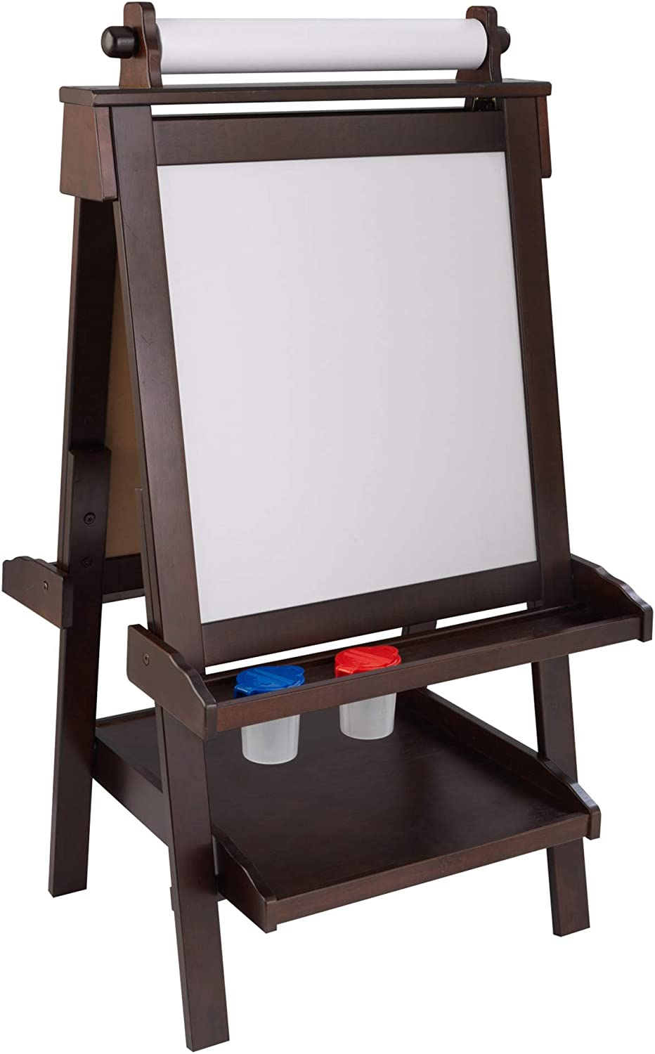 KidKraft Deluxe Portland Mall Limited price Wooden Easel with Erase Dry Surfa and Chalkboard