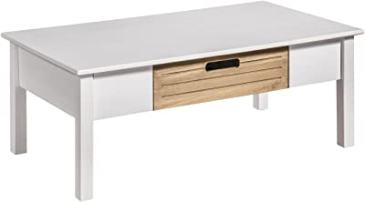 Manhattan Comfort Irving Coffee Table, White