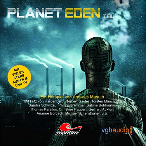 Planet Eden 4 audiobook cover art
