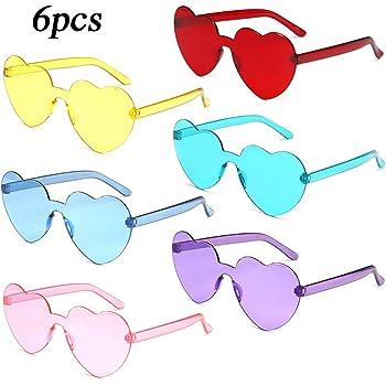 8 Estilos Chinco 16 Pares de Gafas de Fiesta Divertidas Gafas Hawaianas Tropicales para Fiesta Luau Tropical Disfraz Gafas para Ni/ños y Adultos