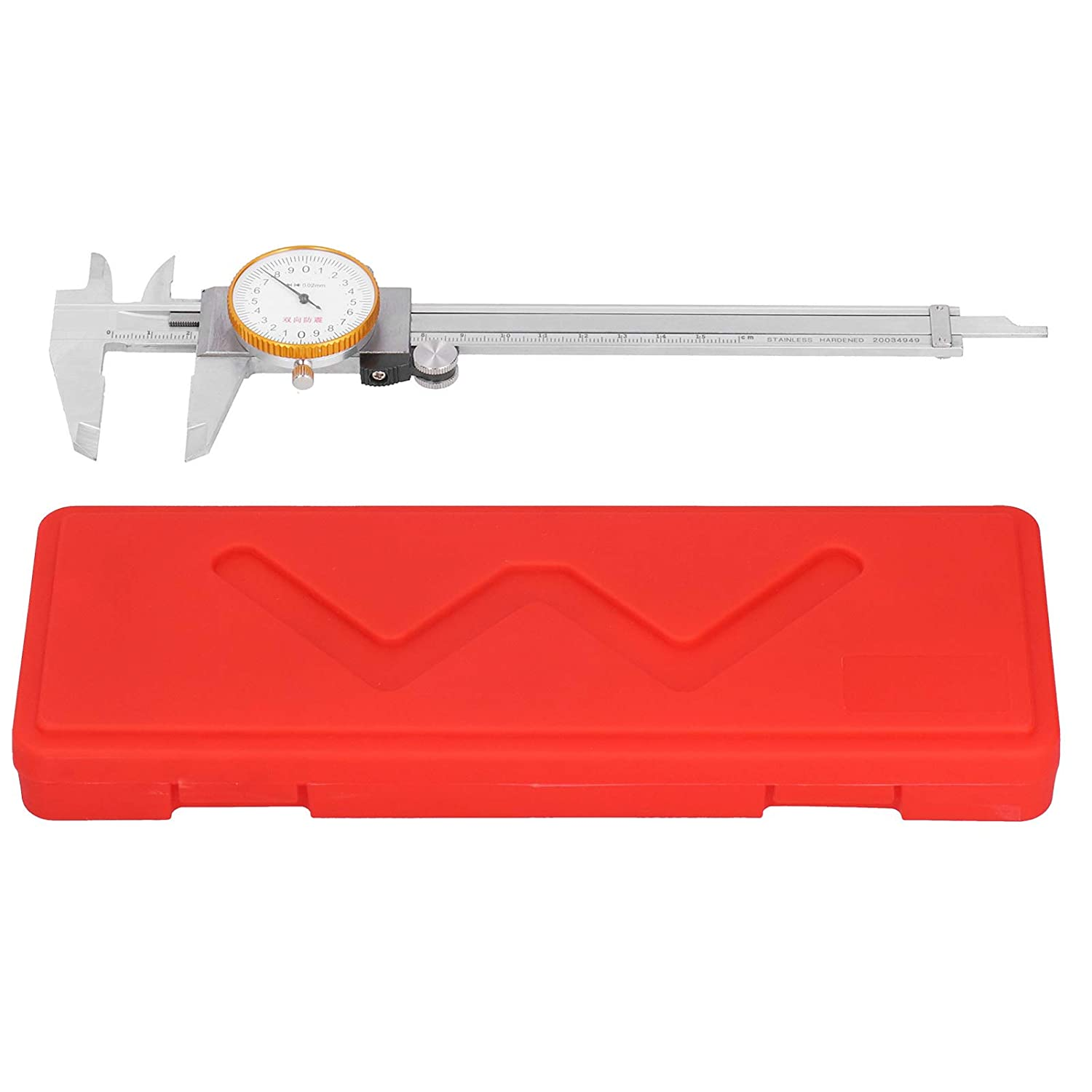 A surprise price is realized Simple Complete Free Shipping Dial Caliper Vernier Metal Frame Stainles Material Steel