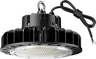 GRANDLUMEN 150W LED High Bay UFO Light, ETL Certified, Replacement for 600W HID/Hps, 5000K Daylight White, LED Warehouse Lighting with 45 inch Cord