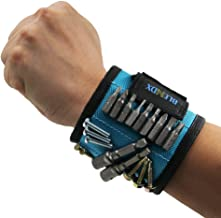 Magnetic Wristband, BLENDX Men Gifts Tool with Strong Magnets for Holding Screws, Nails,..