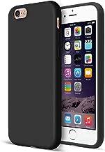 MUNDULEA Matte Case Compatible iPhone 6/6s Flexible TPU Protective Cover Compatible iPhone 6s/ iPhone 6 (Black)