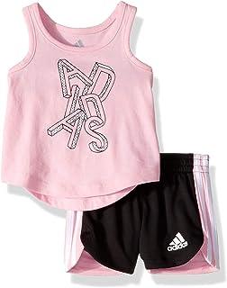 adidas Baby Girls Top and Short Set