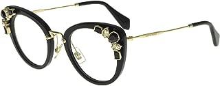 Eyeglasses Miu Miu MU 5PV 1AB1O1 BLACK