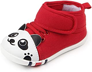CiiaoLeoo Baby Boys Girls Tassels Mustache Slip On Shoes Soft Sole Infant Toddler Prewalker Shoes