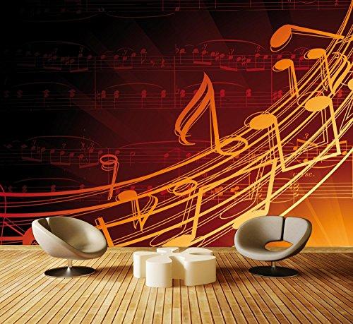 dalinda Premium Vliestapete Musik Fototapete DA00000465 XXL 400 x 280 cm - 8 Teile - Vlies Vliestapete XXL