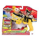 Power Rangers Dino Charge - Juguete Morpher DX con Luces, Color Amarillo (Bandai R42000)