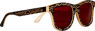 Custom Designed Full Bamboo Wood Polarized Sunglasses