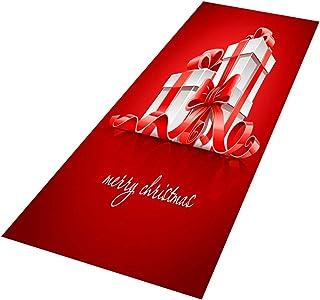 Goddessvan Merry Christmas Welcome Doormats Indoor Home Carpets Decor 70x140CM