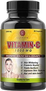 GLOWSIK VITAMIN C CAPSULES FOR SKIN 1000 mg- 90 CAPSULES